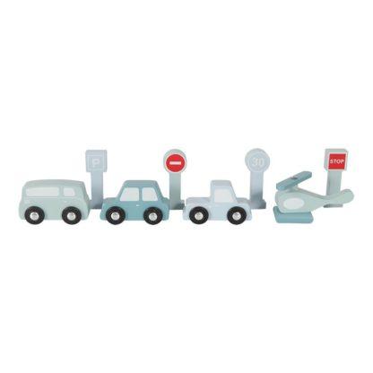 Houten garage met leuke voertuigen_Little Dutch_Lanoeka_4432