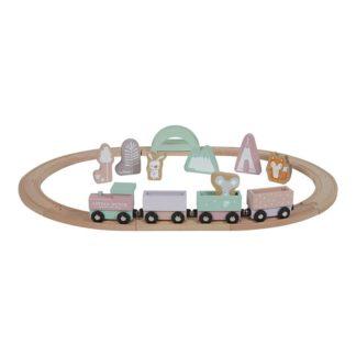 Houten trein roze Little Dutch_Lanoeka_4424