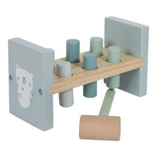 Leuk houten hamerspel blauw Little Dutch_Lanoeka_4425