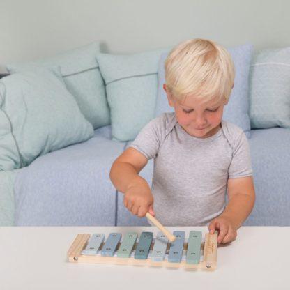 Mooie xylofoon pastelblauw_Little Dutch_Lanoeka_4411