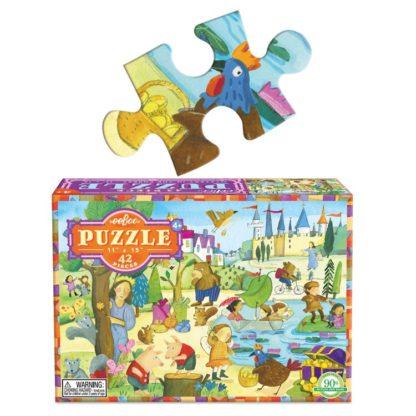 Puzzel sprookje-eeboo-geheim-in-het-bos