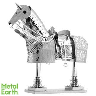 Metal Earth paard harnas