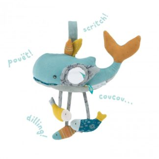 Activiteiten speelgoed walvis - Moulin Roty