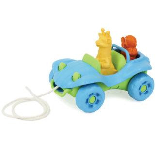 Green Toys trekspeelgoed auto
