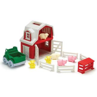 Green Toys boerderij - ecologische speelset