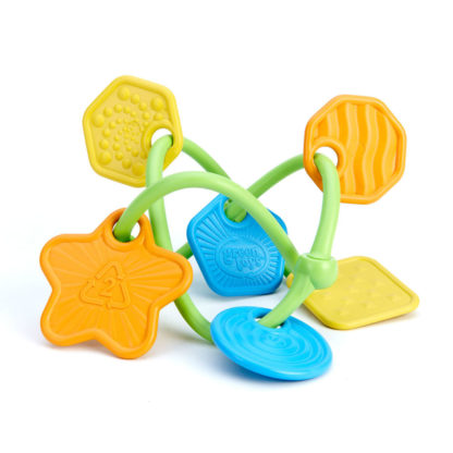 Vrolijke bijtring - uit ecologisch plastic - Green Toys