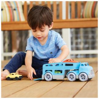 Green Toys vrachtwagen - met mini auto's