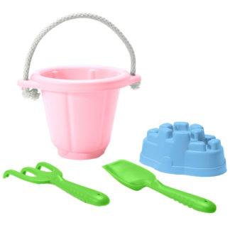 Green Toys zandspeelset - zandspeelgoed roze