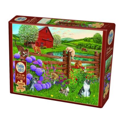 Cobble Hill puzzel met grote stukken
